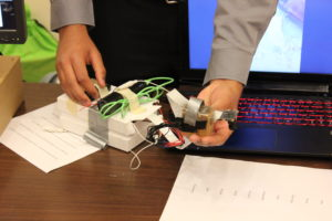 A wearable device at the Wearable device challenge