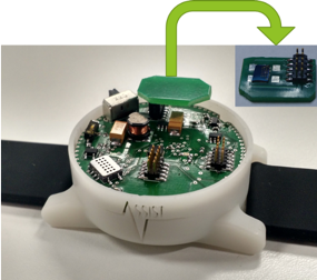 Atomic Layer Deposition (ALD) Ozone sensor integrated into Asthma Monitoring Platform.