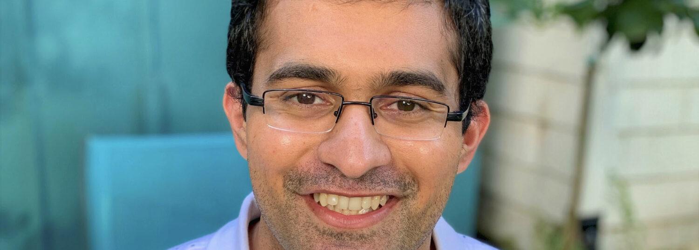 Biochemical Sensor Researcher Amay Bandodkar of the ASSIST Center at NCSU